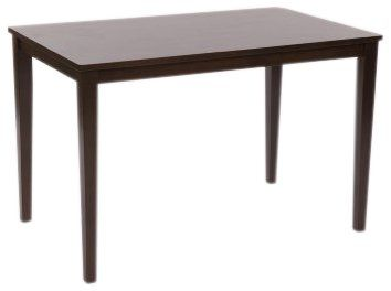 TMS Shaker Dining Table, Espresso