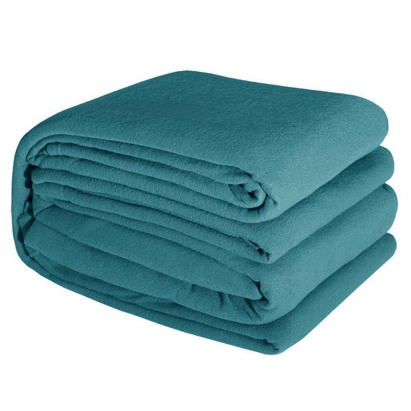 DOZZZ Super Warm Cozy Fleece Sheet Sets Wrinkle-Resistant Microfiber Bedding Sheet Sets QUEEN size, T