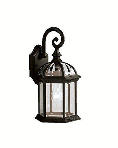Kichler Lighting 9735BK Street Outdoor Sconce, Black