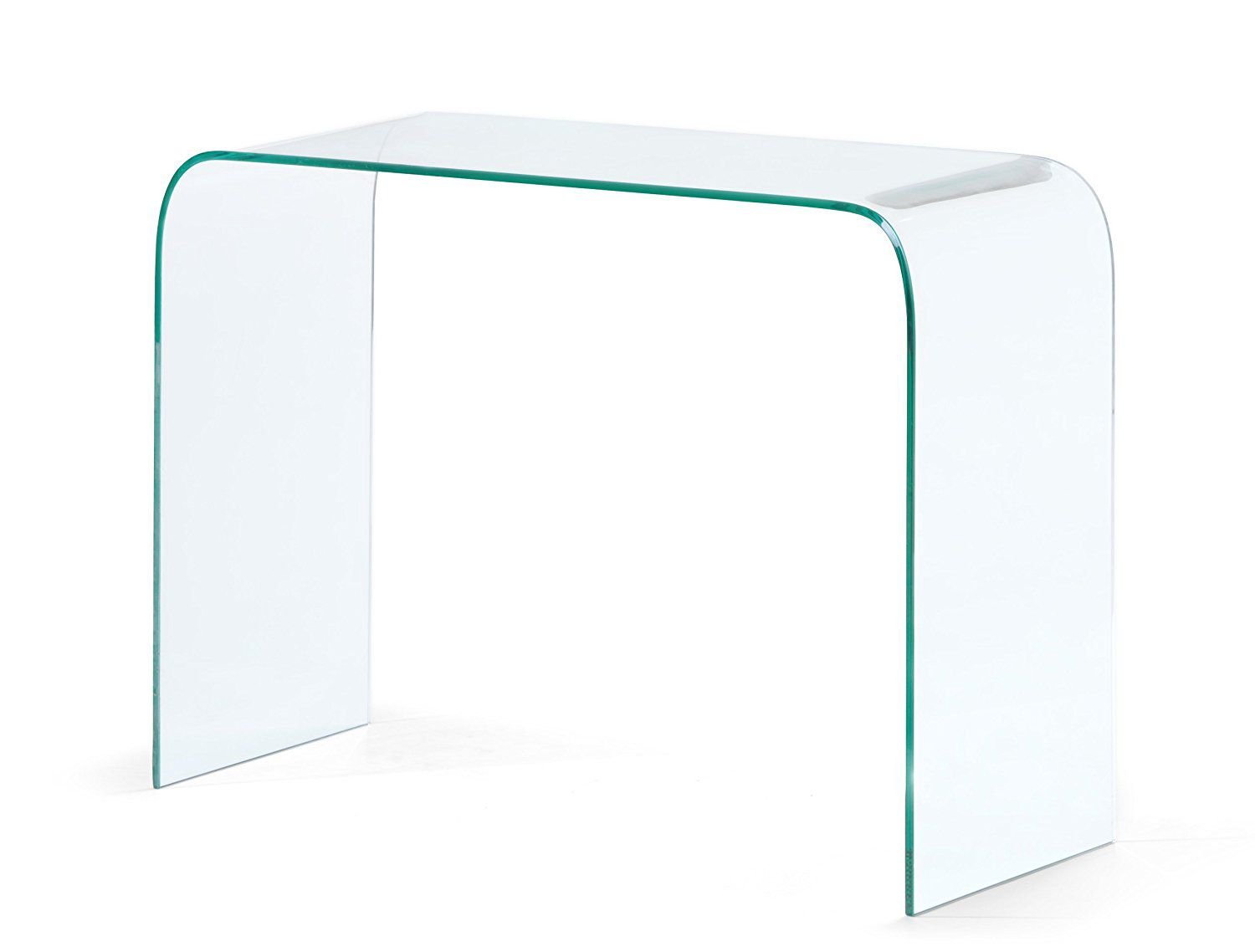 Zuo Modern Mecca Console Table, Clear