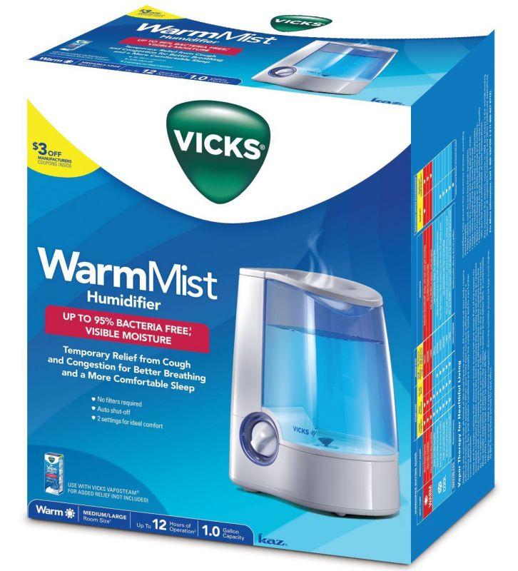 Vicks Warm Mist Humidifier Box