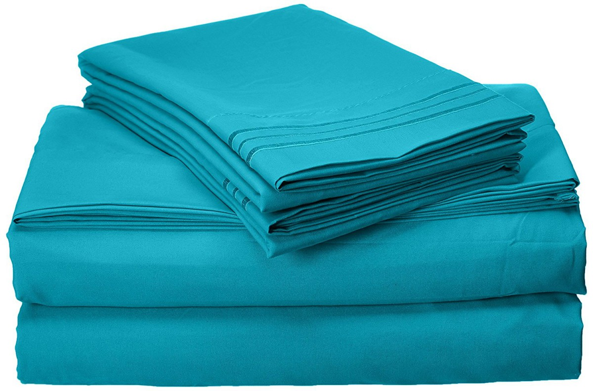 Elegant Comfort 1500 Thread Count Egyptian Quality 4-Piece Bed Sheet Sets