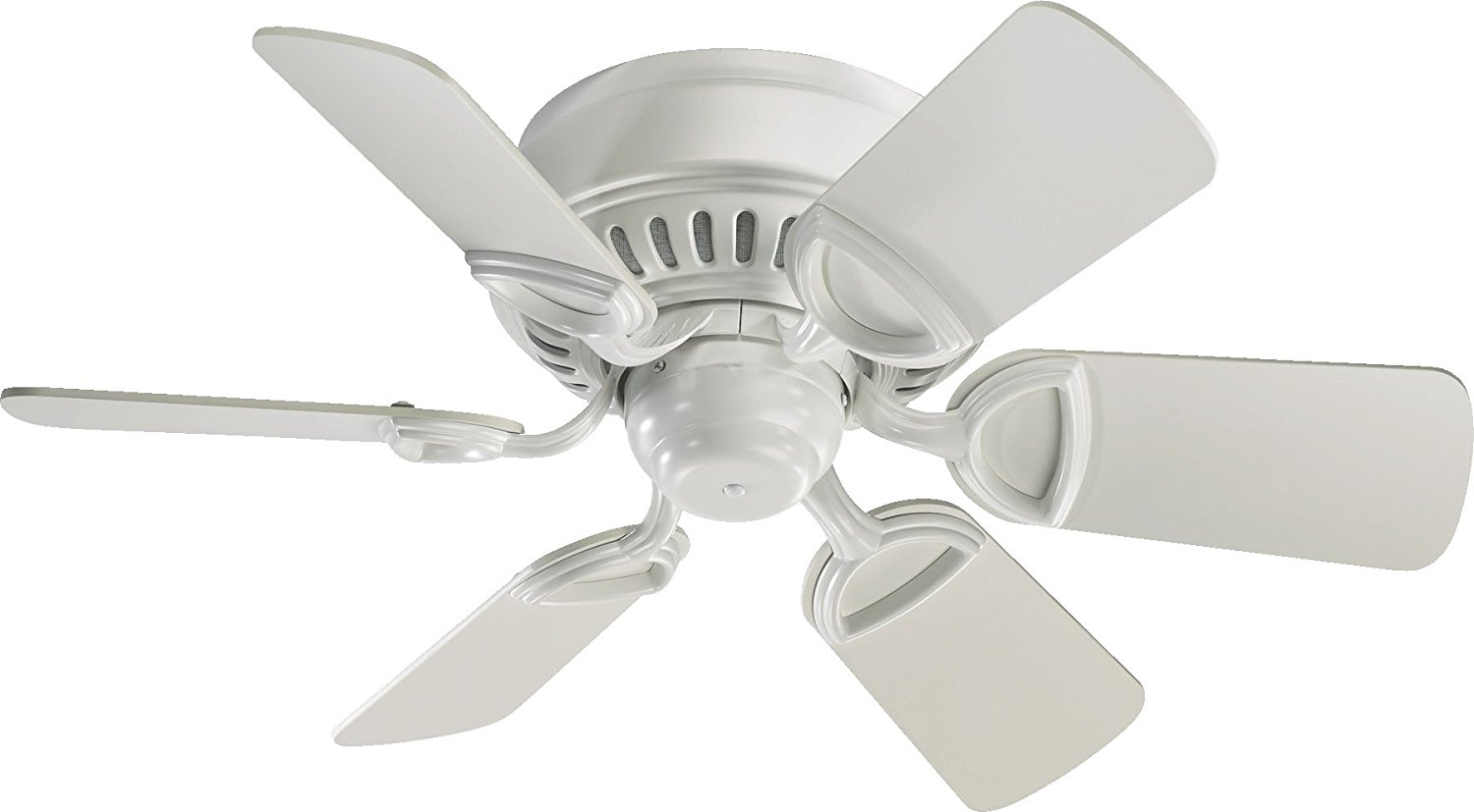 """30"""" Medallion Six-Blade Ceiling Fan with Three-Speed Pull Chain"""