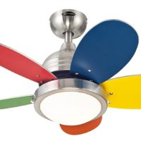 7247500 Roundabout 30-Inch Brushed Nickel Indoor Ceiling Fan, Light Kit with Opal Frosted Glass