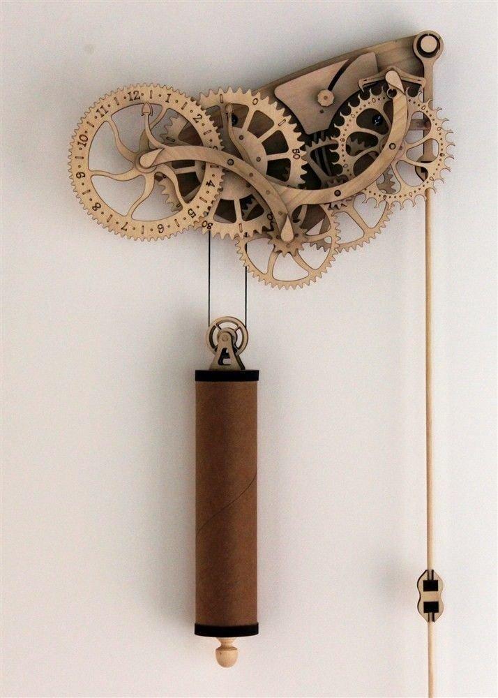 Abong Mechanical Wooden Clock Kit