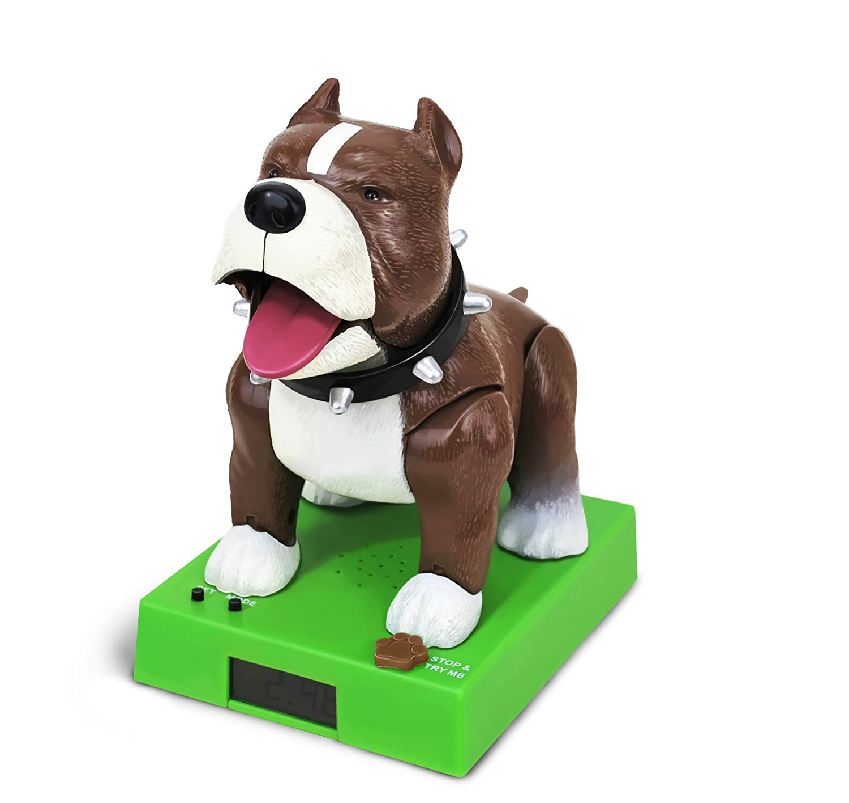 BigMouth Inc Sparky The Rappin' Bulldog Talking Alarm Clock