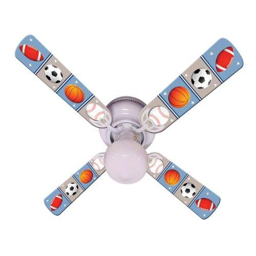 Ceiling Fan Designers Kids Play Ball Indoor Ceiling Fan