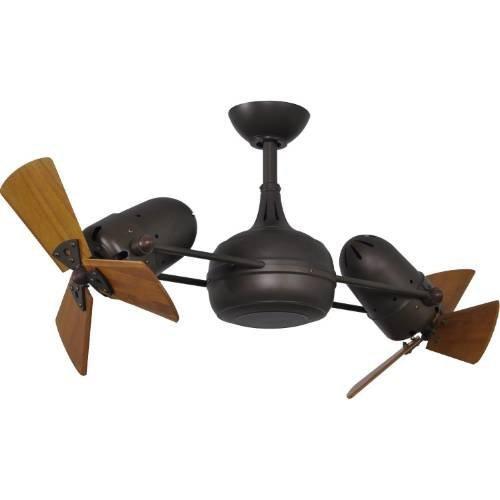 Matthews Fan Company DG-TB-WD Ceiling Fan, Textured Bronze Finish