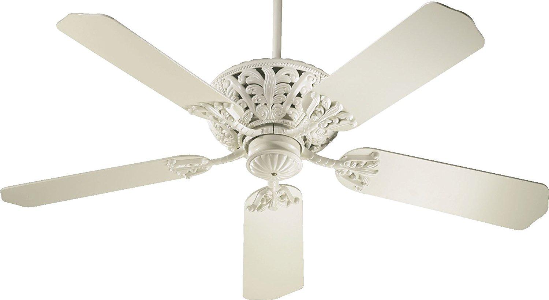 """Quorum 85525-67, Windsor Antique White Energy Star 52"""" Ceiling Fan"""