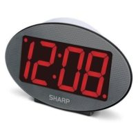 sharp alarm clock battery operated – HomeInDec
