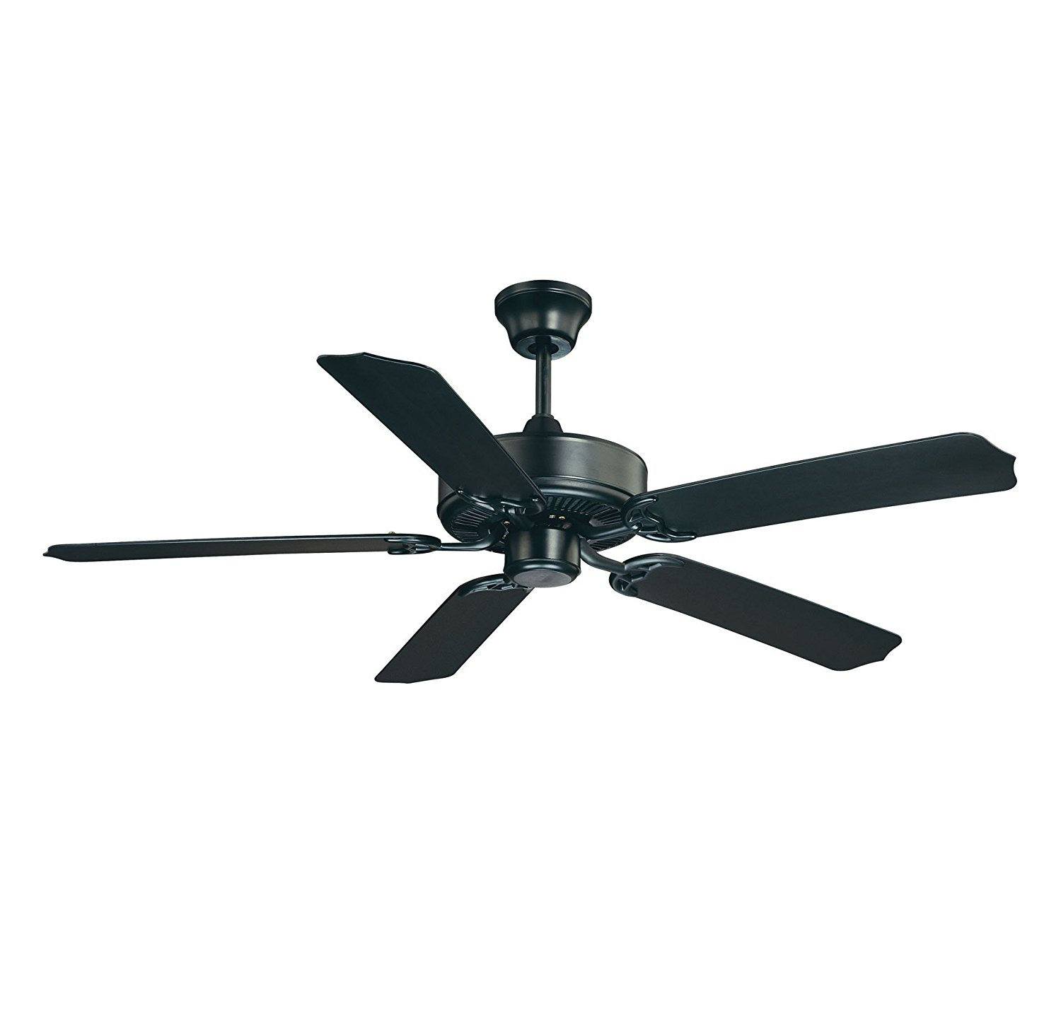 "Savoy House Nomad 52"" Outdoor Ceiling Fan in Flat Black 52-EOF-5MB-FB"