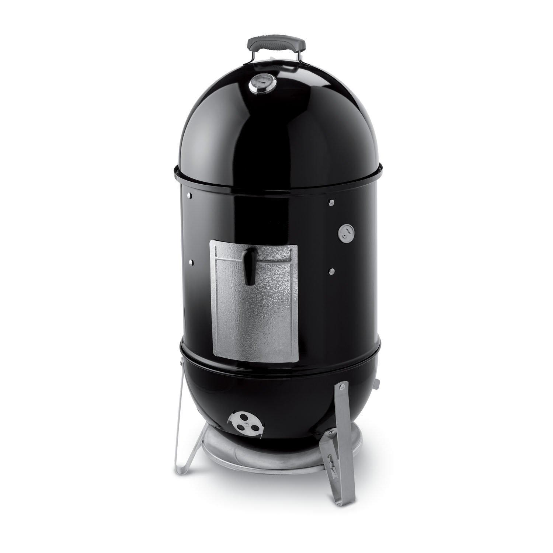 Weber 721001 Smokey Mountain Cooker 18-Inch Charcoal Smoker, Black