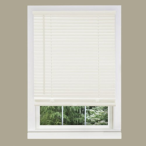 Achim Home Furnishings Morning Star 1-Inch Mini Blinds, 22 by 64-Inch, White