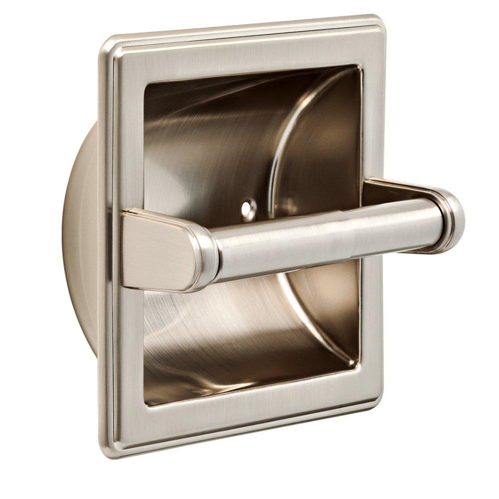 Franklin Brass 9097SN Recessed Paper Holder, Satin Nickel