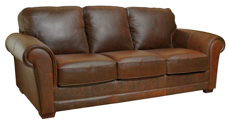 Mark Leather Sofa