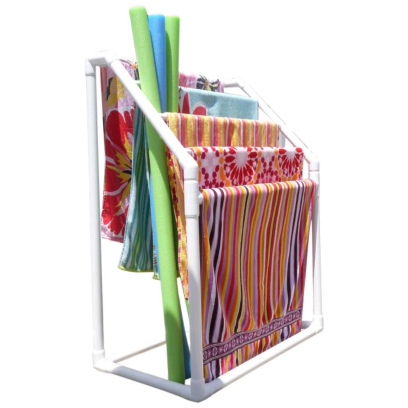 TowelMaid Outdoor 5 Bar Freestanding Towel Rack