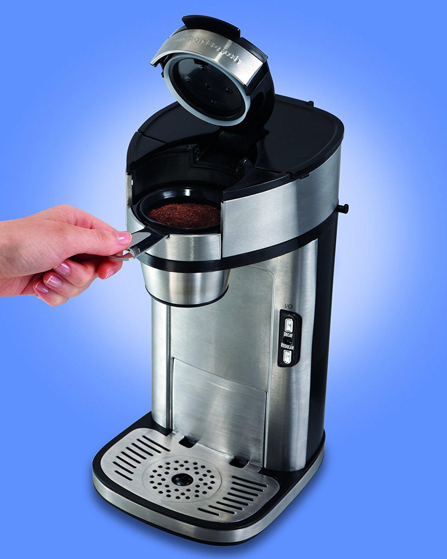 Hamilton Beach Single Serve Scoop Coffee Maker 49981