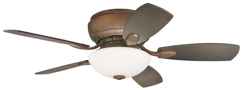 """44"""" Casa Habitat Oil-Rubbed Bronze Hugger Ceiling Fan"""