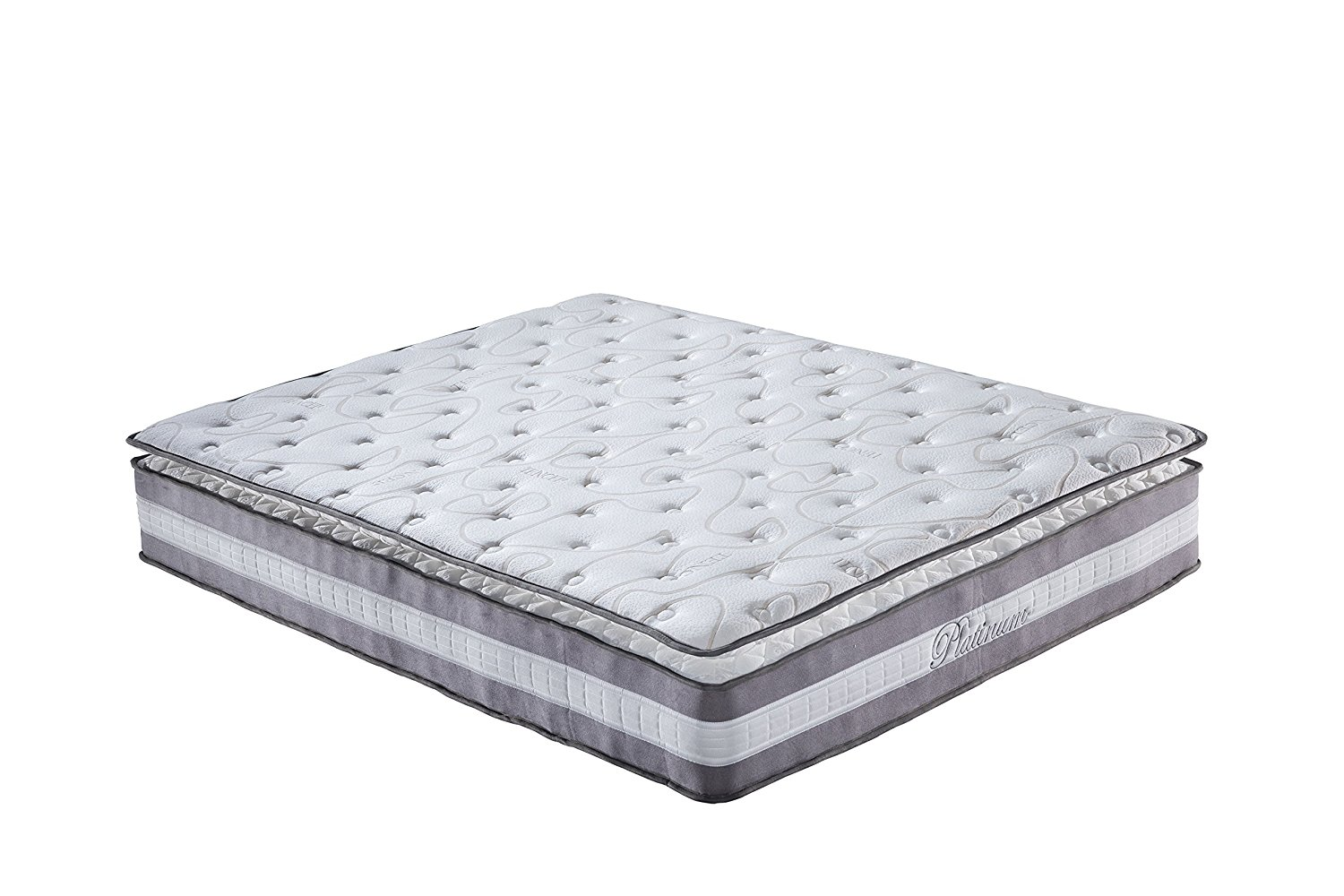 High Density 13-inch Hybrid Memory Foam and Innerspring Mattress with Plush Pillow Top (Full)