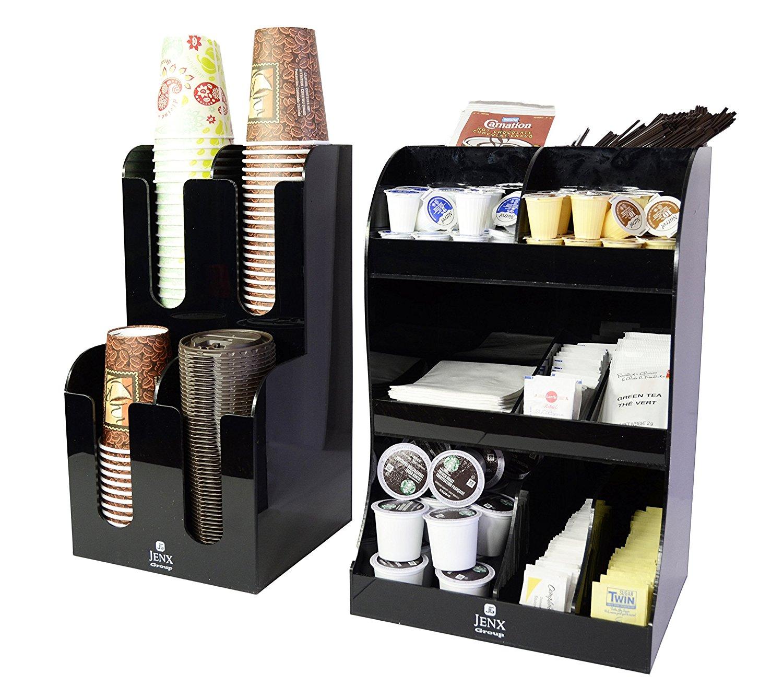 Jenx Acrylic Coffee Condiment and Organizer